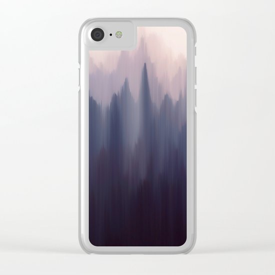 Morning Fog I Clear iPhone Case