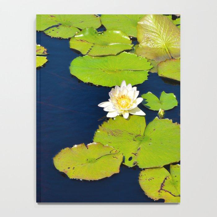 Dark Blue Pond by Teresa Thompson Notebook