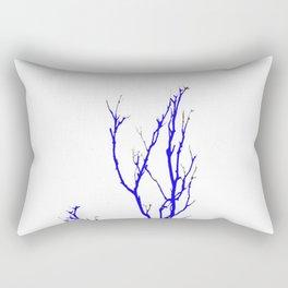 TWILIGHT WINTER TREE BRANCHES Rectangular Pillow