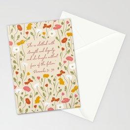 Poppy Field  Stationery Cards