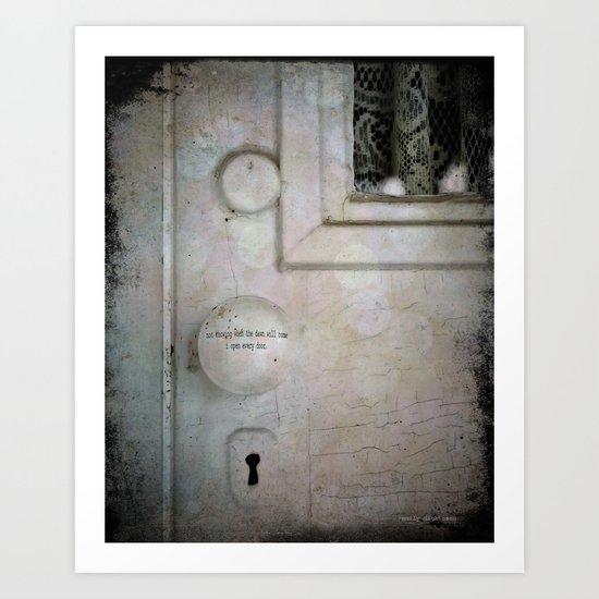 Open Every Door Art Print