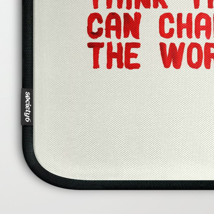The Crazy Ones Laptop Sleeve