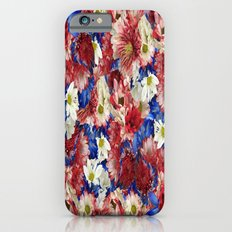 Red White Blue Flora Slim Case iPhone 6s