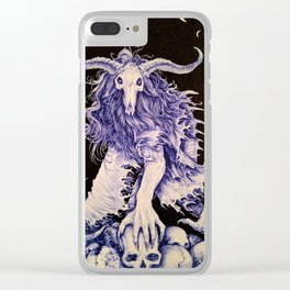 The Bone Collector Clear iPhone Case
