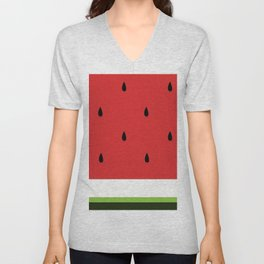 Fresh Water Melon Unisex V-Neck