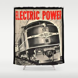 Electric Power Shower Curtain