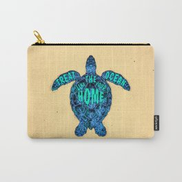 ocean omega Carry-All Pouch