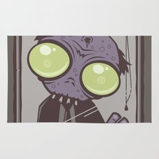 Office Zombie Rug