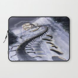 Under the Shadow of a God Laptop Sleeve
