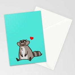 Tiri Teal Stationery Cards