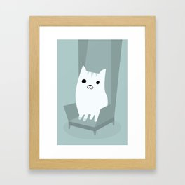 Gentleman Cat Framed Art Print