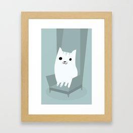 Gentleman Cat Framed Art Print
