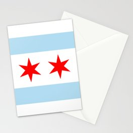 Chicago Flag Stationery Cards