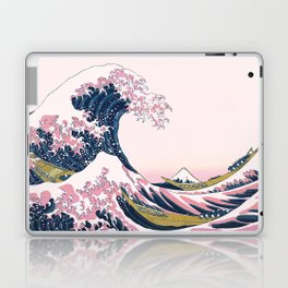 The Great Pink Wave off Kanagawa Laptop & iPad Skin