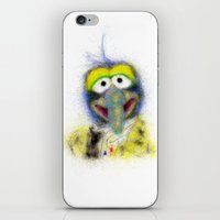 muppets iPhone & iPod Skins featuring Gonzo, The Muppets by KitschyPopShop