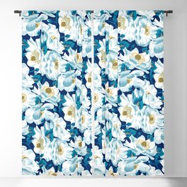 Mount Cook Lily (Night) Blackout Curtain
