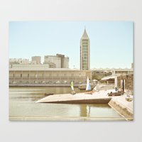 architecture Canvas Prints featuring Architecture by Sébastien BOUVIER
