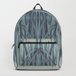 Green-Blue Grass Backpack