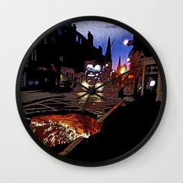 Nightbus to Hell Wall Clock