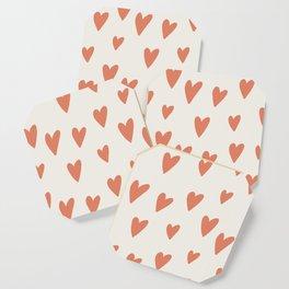 Hearts Hearts Hearts Coaster