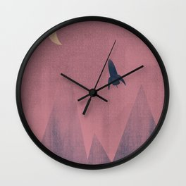 On Voyage Wall Clock