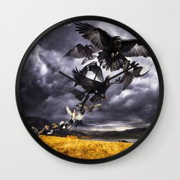 DAVID GILMOUR RATTLE LOCK TOUR 2019 KRIPTON Wall Clock