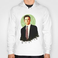 dale cooper Hoodies featuring Cooper by chazstity