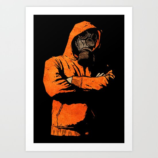 You Got A Problem? V2 Art Print