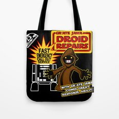 Gr'Ate Jawa Droid Repairs Tote Bag