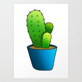 cactus #3 Art Print