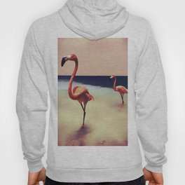 Flamingo beach Hoody