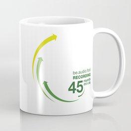 45rpm be.audio.fool Coffee Mug