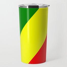 Flag of the Republic of the Congo Travel Mug