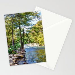 Guadalupe River - Gruene Texas Stationery Cards