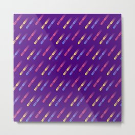 Falling comets abstract Metal Print