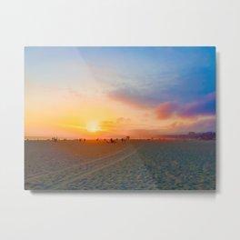 Santa Monica State Beach Metal Print