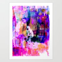 celestial Art Prints featuring Celestial by Amy Sia