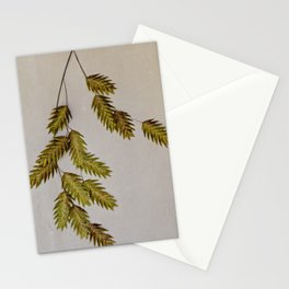 oat grass portrait Stationery Cards