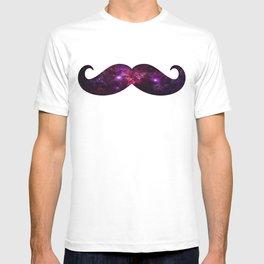 Space mustache T-shirt