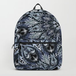 Bohemian Soul Night Mandala Backpack