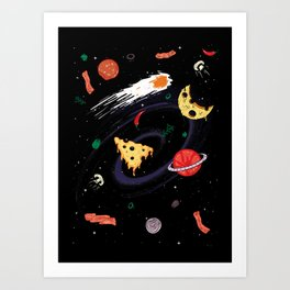 High Calorie Way Art Print
