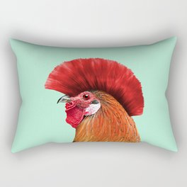 PUNK COCK Rectangular Pillow