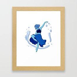 Lapis Dances Framed Art Print