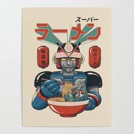 Super Ramen Bot Poster