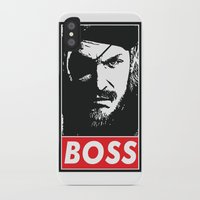 metal gear iPhone & iPod Cases featuring Big Boss - Metal Gear Solid by TxzDesign