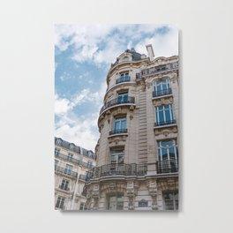 Paris Architecture VI Metal Print