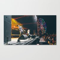 tyler the creator Canvas Prints featuring Tyler The Creator by JesseUli
