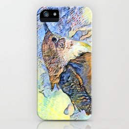 Sing Little Wren iPhone Case