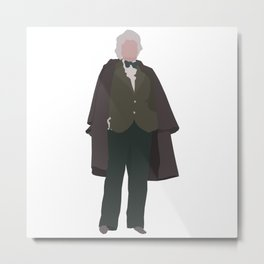 Third Doctor: Jon Pertwee Metal Print