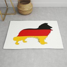 German Flag - Border Collie Rug